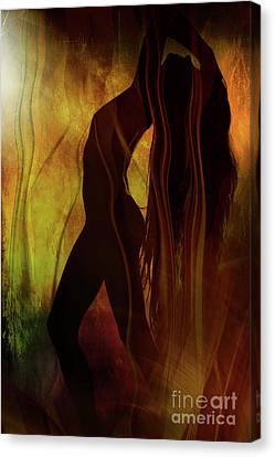 The Witches Dance... Canvas Print by Nina Stavlund