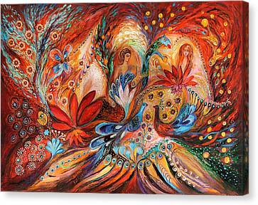 The Women Of Tanakh Hava II Canvas Print by Elena Kotliarker