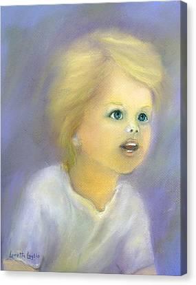 The Wonder Of Childhood Canvas Print by Loretta Luglio