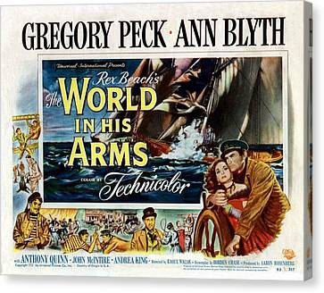 The World In His Arms 1952 Canvas Print by Mountain Dreams