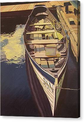The Yellow Paddle Canvas Print by Thu Nguyen