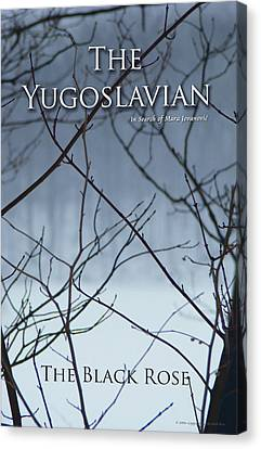 The Yugoslavian Book Cover Canvas Print by The Black Rose