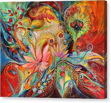 The Zodiac Signs Canvas Print by Elena Kotliarker