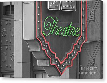 Theatre Canvas Print by Dan Holm