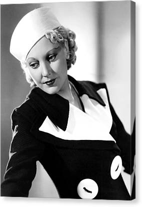 Thelma Todd, 1934 Canvas Print by Everett