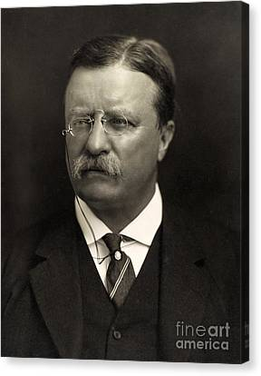 Theodore Roosevelt Canvas Print by Unknown