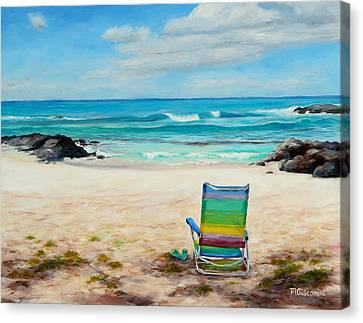 Therapy Canvas Print by Mary Giacomini