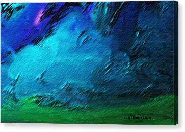 There Is Always Sky Canvas Print by Lenore Senior