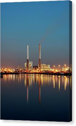 Thermal Power Station Canvas Print by Alex Bartel