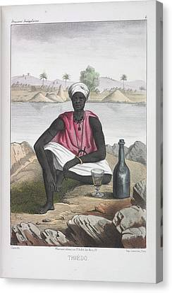 Thiedo Canvas Print by British Library
