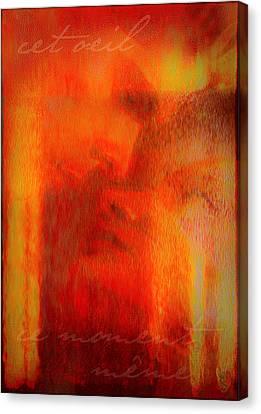 This Eyes Canvas Print by Li   van Saathoff