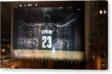 This Is Cleveland Canvas Print by Wendy Gertz