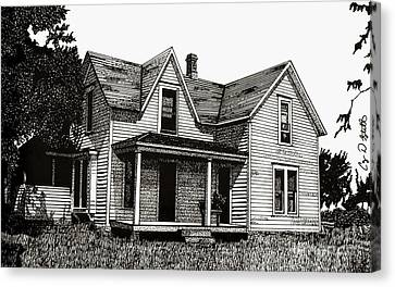 This Old House Canvas Print by Cory Still