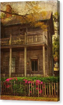 This Old House Canvas Print by Kim Hojnacki