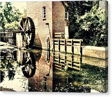 This Old Mill Canvas Print by Lynne Dohner
