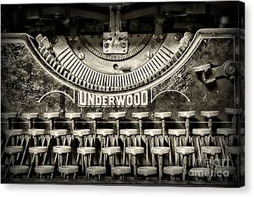 This Old Typewriter Canvas Print by Paul Ward