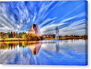 This Photo Is Worth A Mint...wrcm Canvas Print by Larry Trupp