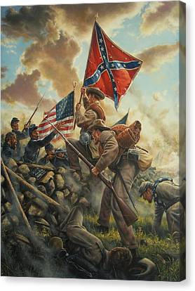 This Side Of The Lord Canvas Print by Dan Nance