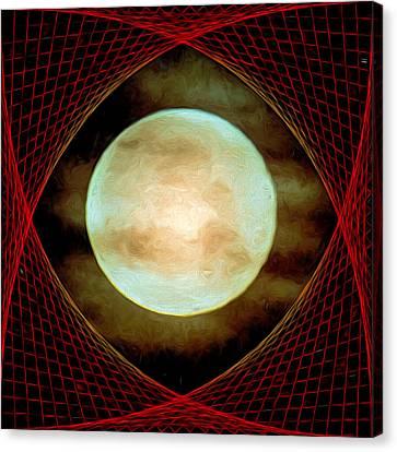 Tholian Web Canvas Print by John Haldane
