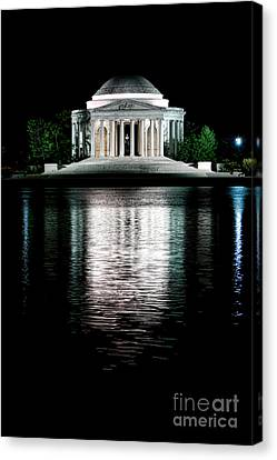 Thomas Jefferson Forever Canvas Print by Olivier Le Queinec