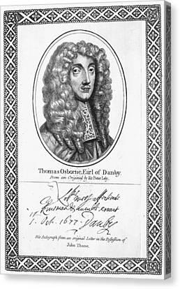 Thomas Osborne (1632-1712) Canvas Print by Granger