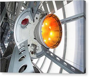 Thor Space Rocket Canvas Print by Ashley Cooper