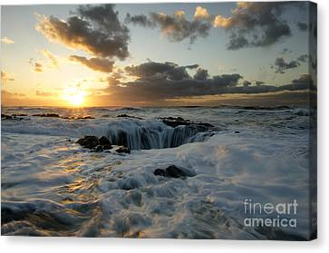 Thors Well Truly A Place Of Magic 4 Canvas Print by Bob Christopher