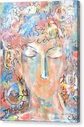 Thoughts Canvas Print by Chaline Ouellet