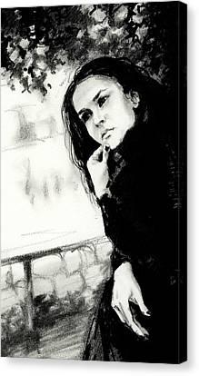 Thoughts Canvas Print by Natasha Denger