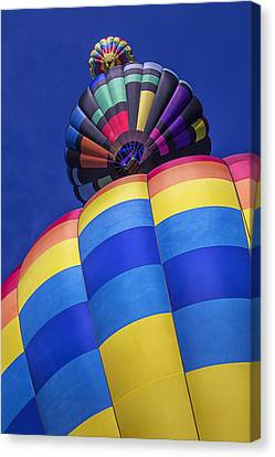 Three Hot Air Balloons Canvas Print by Garry Gay