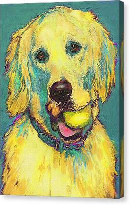 Three Hundred Fiftyfourth Retrieve Canvas Print by Jane Schnetlage