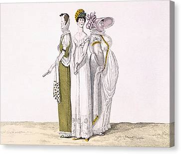 Three Parisian Graces, Plate 16 From Le Canvas Print by French School