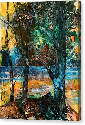 Three Sisters Canvas Print by Patricia Allingham Carlson
