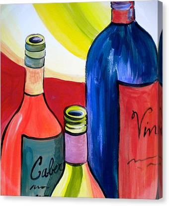 Threesome Canvas Print by Debi Starr