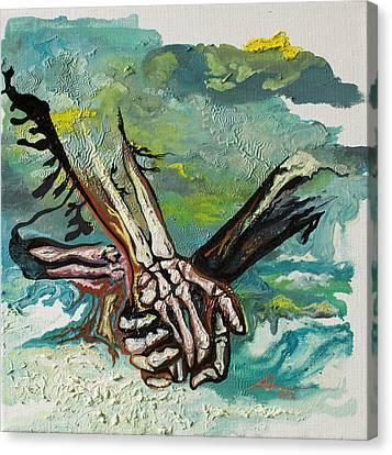 Through Storms Canvas Print by Joseph Demaree