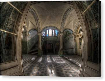 Through The Arches Canvas Print by Nathan Wright