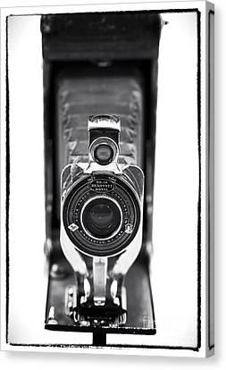 Through The Lens Canvas Print by John Rizzuto