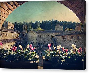 Through Time Canvas Print by Laurie Search