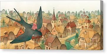 Thumbelina02 Canvas Print by Kestutis Kasparavicius