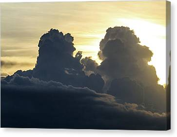 Thunderstorm Clouds Canvas Print by Alfred Pasieka
