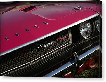 Tickled Pink 1970 Dodge Challenger R/t Canvas Print by Gordon Dean II