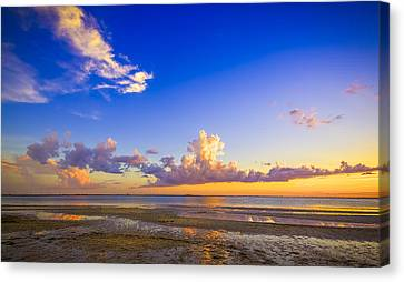 Tide Pools Canvas Print by Marvin Spates