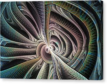 Tied Up Canvas Print by Anastasiya Malakhova
