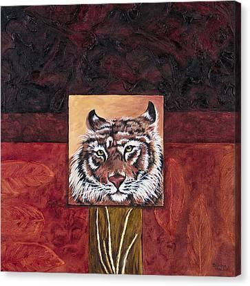 Tiger 2 Canvas Print by Darice Machel McGuire