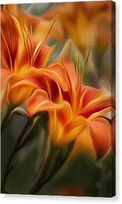 Tiger Lily Canvas Print by Bill Wakeley