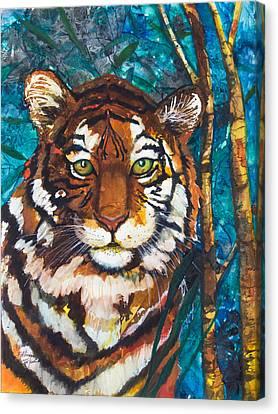 Tiger Canvas Print by Patricia Allingham Carlson