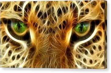 Tiger Portrait  Canvas Print by Mark Ashkenazi