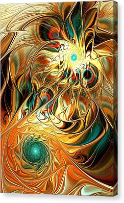 Tiger Vision Canvas Print by Anastasiya Malakhova