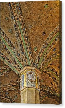 Tile Work Canvas Print by Susan Candelario