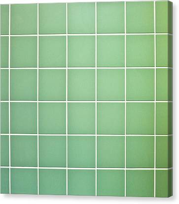 Tiles Background Canvas Print by Tom Gowanlock